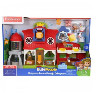 Fisher Price Little People Muzyczna Farma FKD34