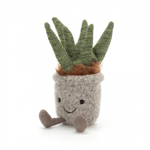 Jellycat Silly kwiat aloes 20 cm
