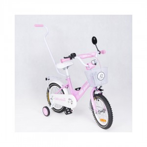 Tomabike platinum Rower Pink little princes 14 cali